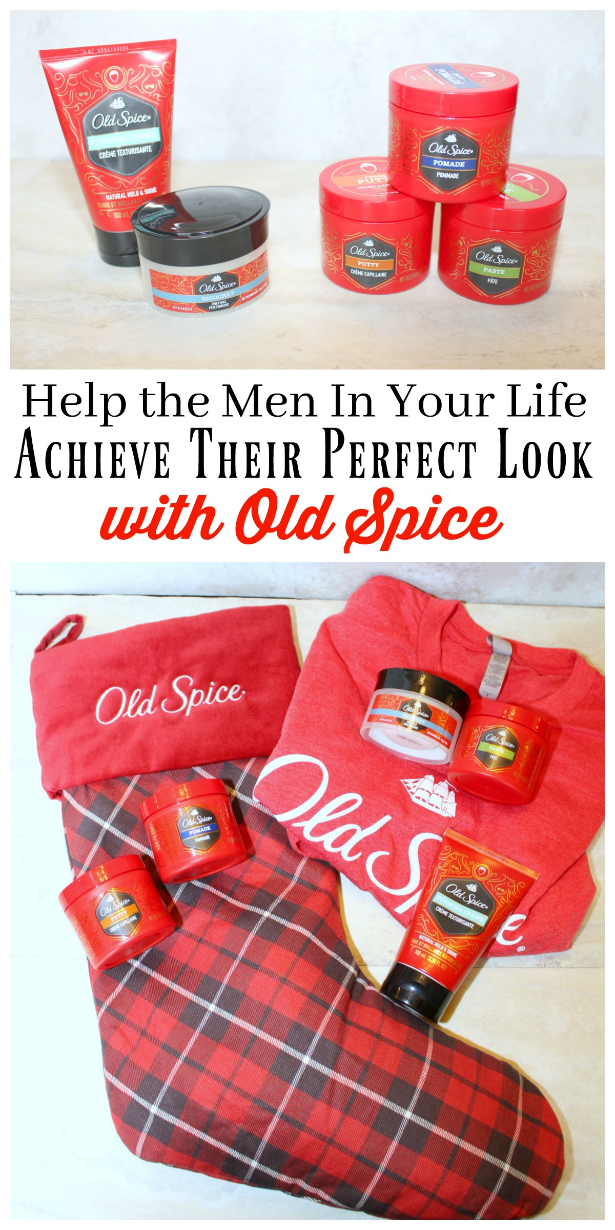 Old Spice Holiday Looks