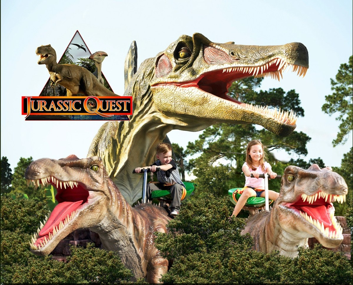Get Up Close & Personal with Dinosaurs at Jurassic Quest - Enter to WIN a Family 4 Pack of Tickets to the Allentown Show
