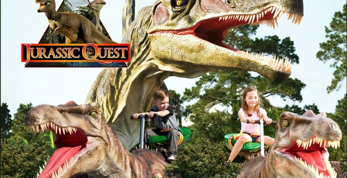 Get Up Close & Personal with Dinosaurs at Jurassic Quest – Enter to WIN a Family 4 Pack of Tickets to the Allentown Show