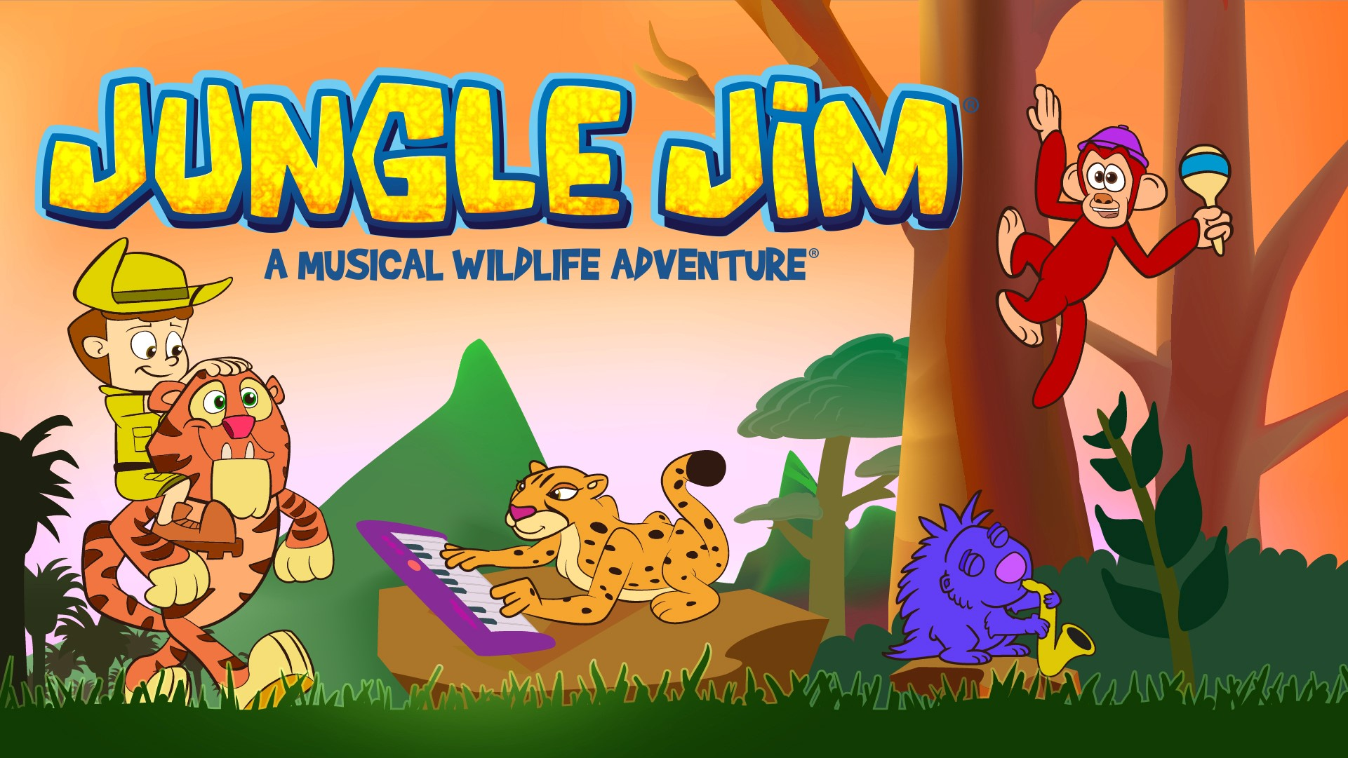 Jungle Jim - A Musical Wildlife Adventure A New Show for Preschoolers