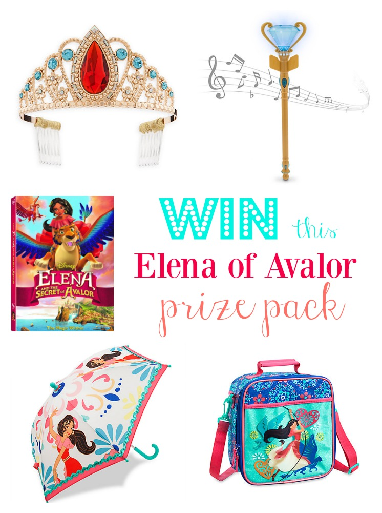 Elena and the Secret of Avalor Coming to DVD February 7th - WIN an Elena Prize Pack