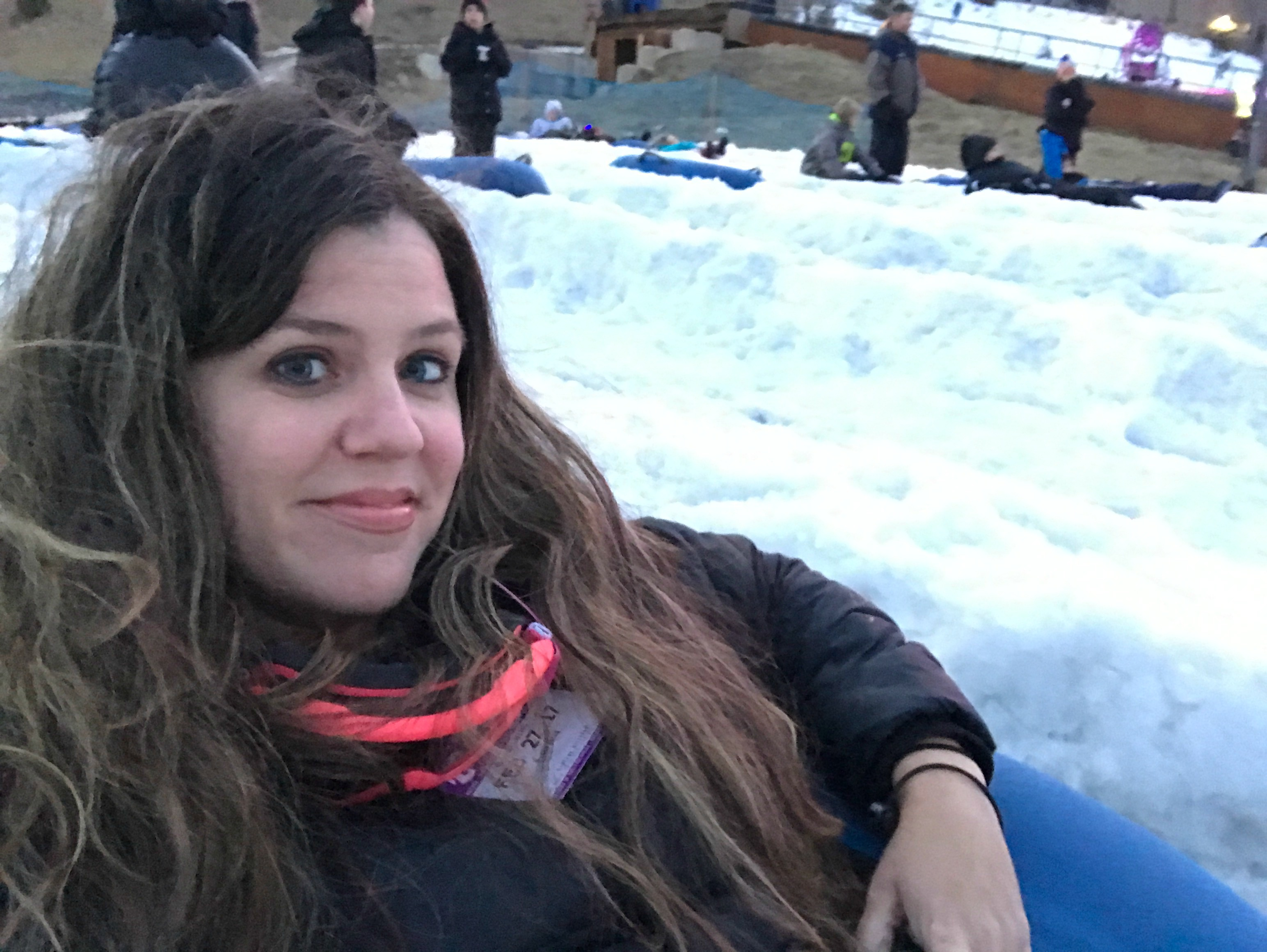 Galactic Snow Tubing at Camelback Mountain