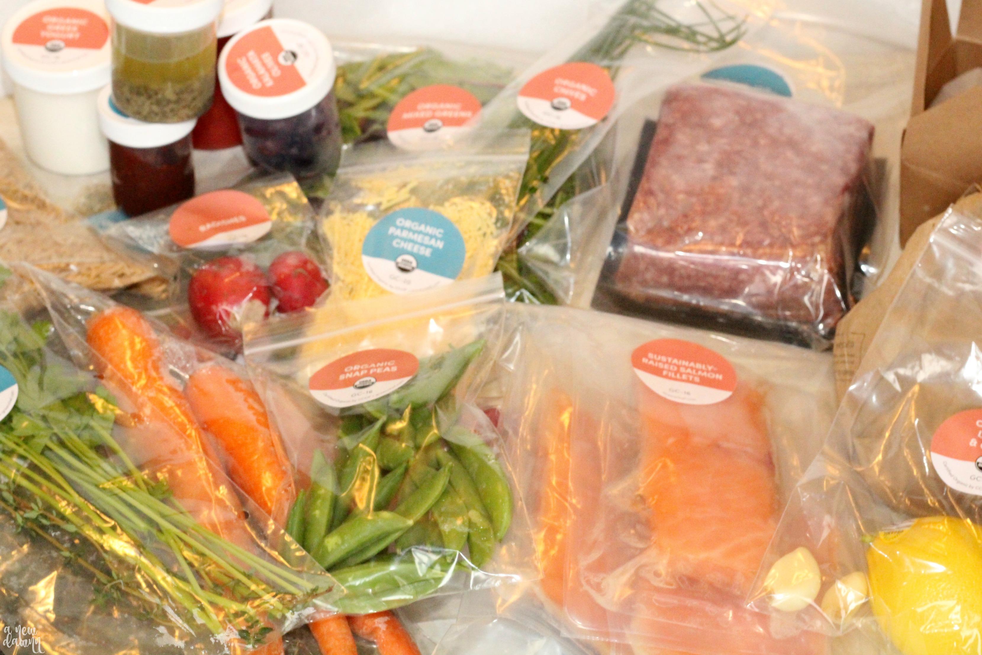 Green Chef Organic Meal Kit
