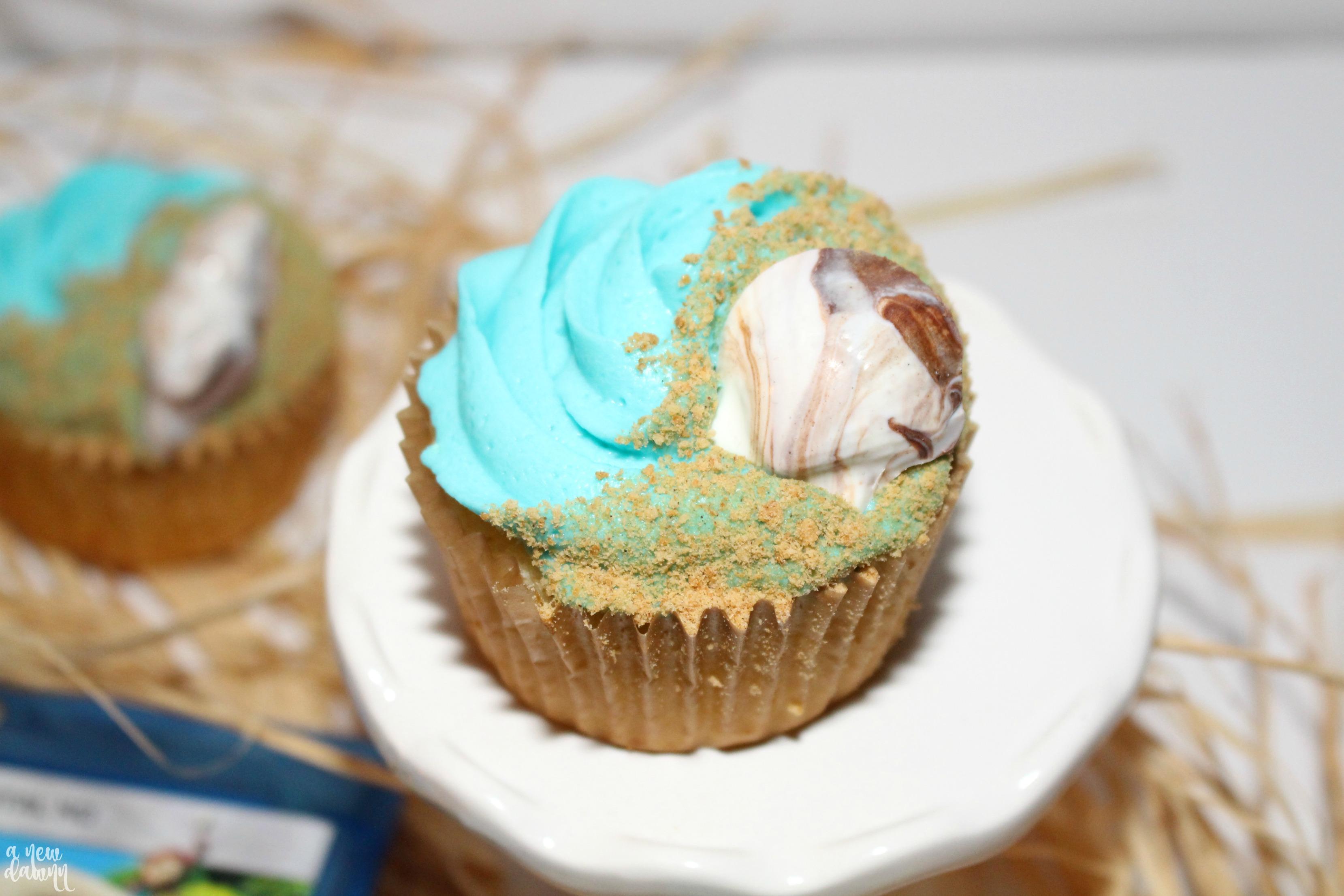 Moana Cupcake Recipe