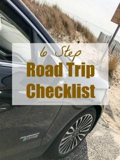 6 Step Road Trip Checklist