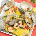 Fresh Corn and Seafood Clambake