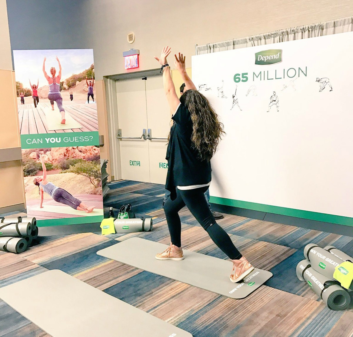 How Yoga is Inspiring Me to Own My Greatness - #OwnYourGreatness with Depend®