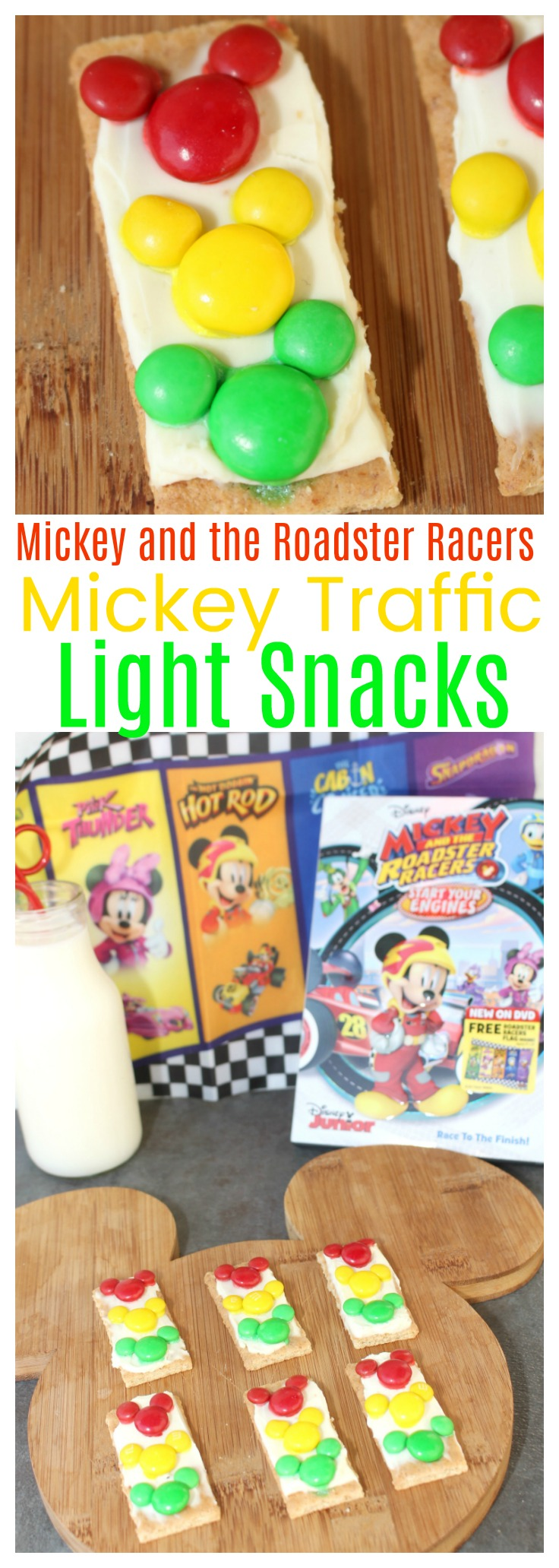 Mickey and the Roadster Racers MIckey Traffic Light Snacks