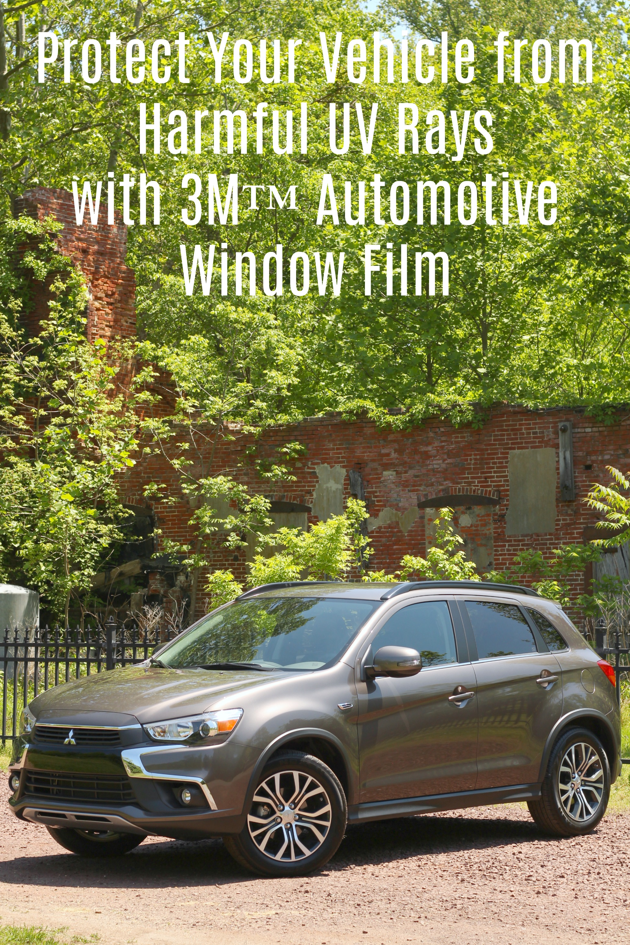Protect Your Vehicle from Harmful UV Rays with 3M™ Automotive Window Film