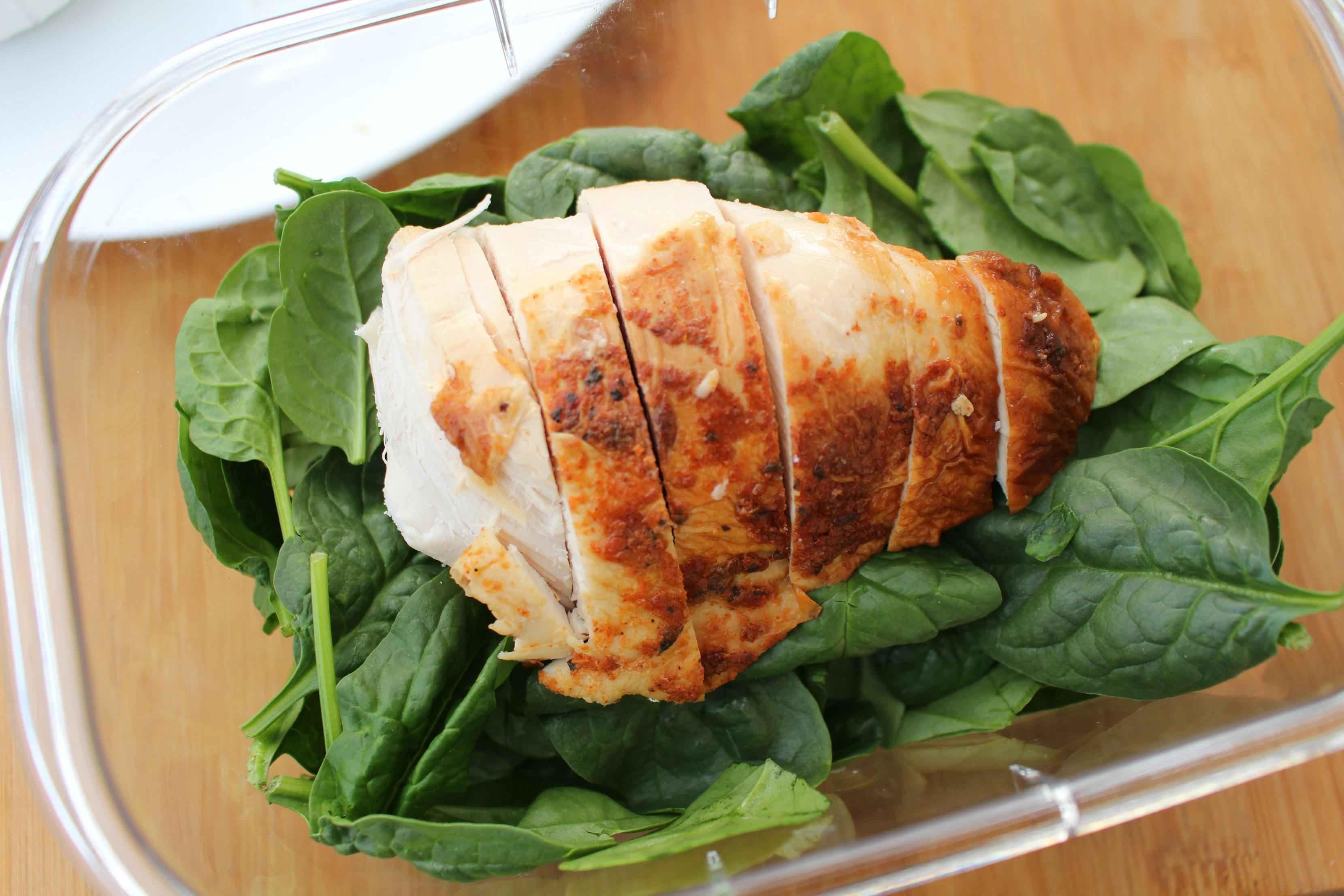Avocado Caprese Chicken Salad