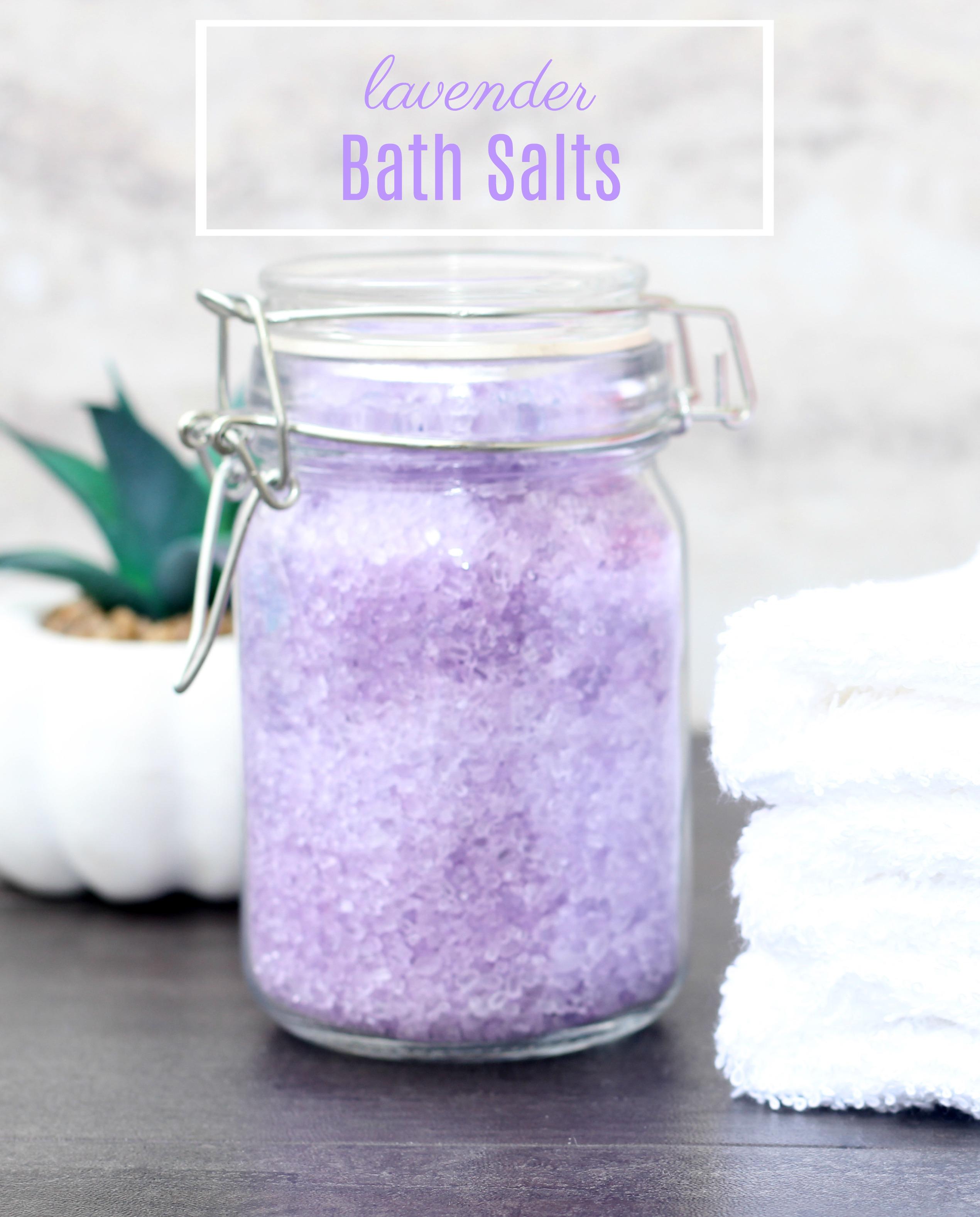 Tips for a Better Night's Sleep + DIY Lavender Bath Salts