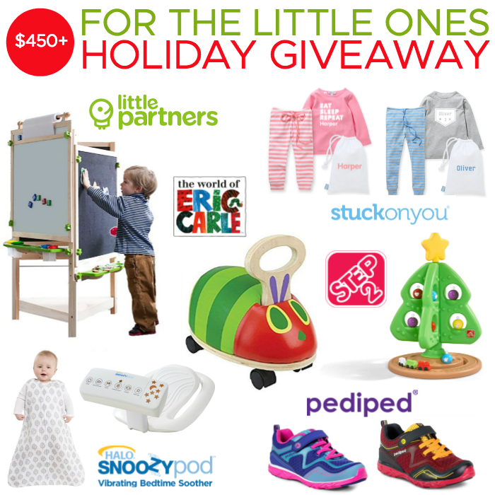 For the Little Ones Holiday Giveaway - Ends 11/30