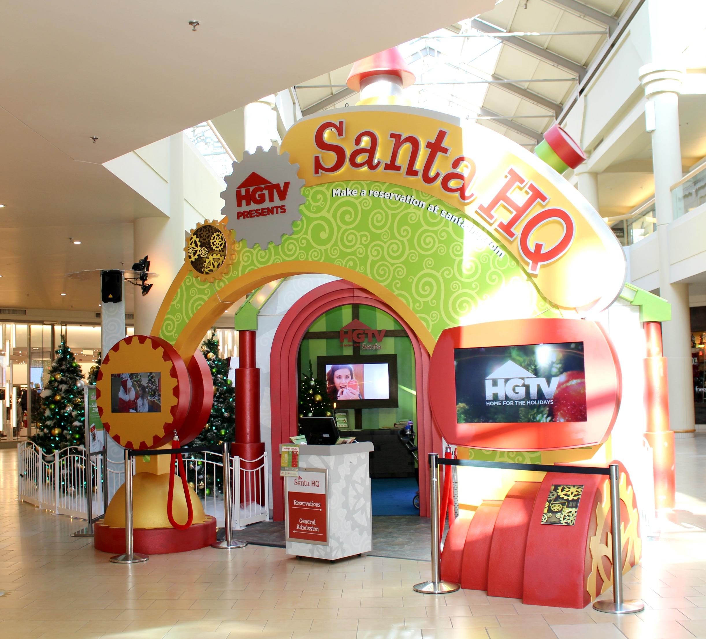 HGTV'S SANTA HQ