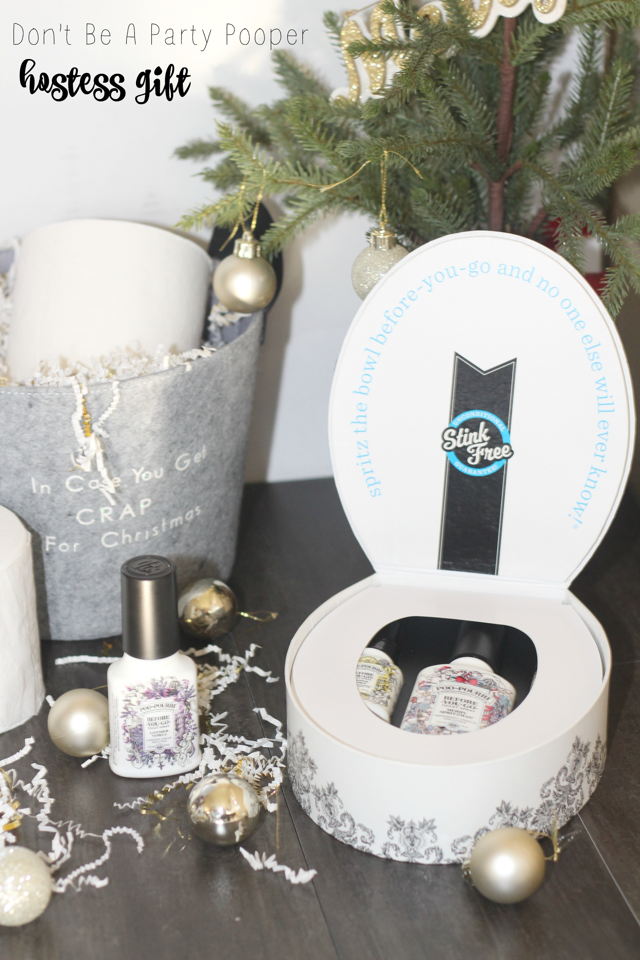 Don't be a Party Pooper -Holiday Hostess Gift Idea