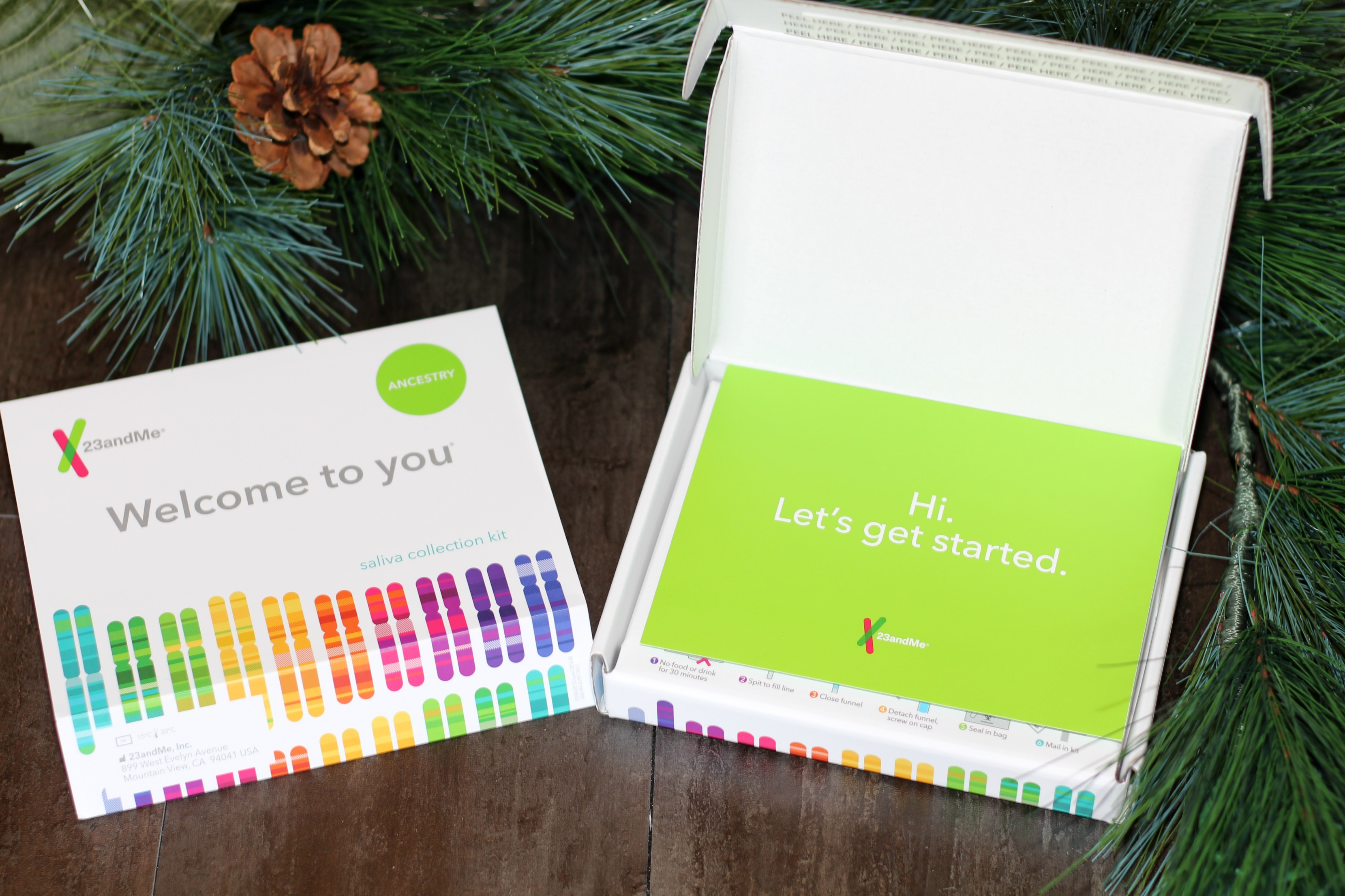 Give the Gift of Family History with 23andMe Ancestry Kit