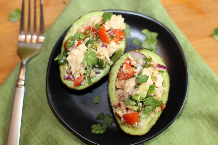 Tuna Salad Stuffed Avocados