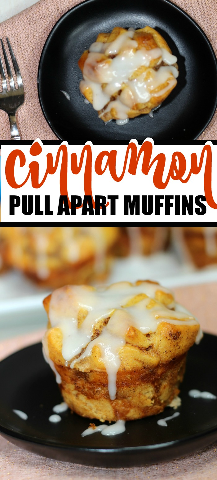Cinnamon Pull Apart Muffins