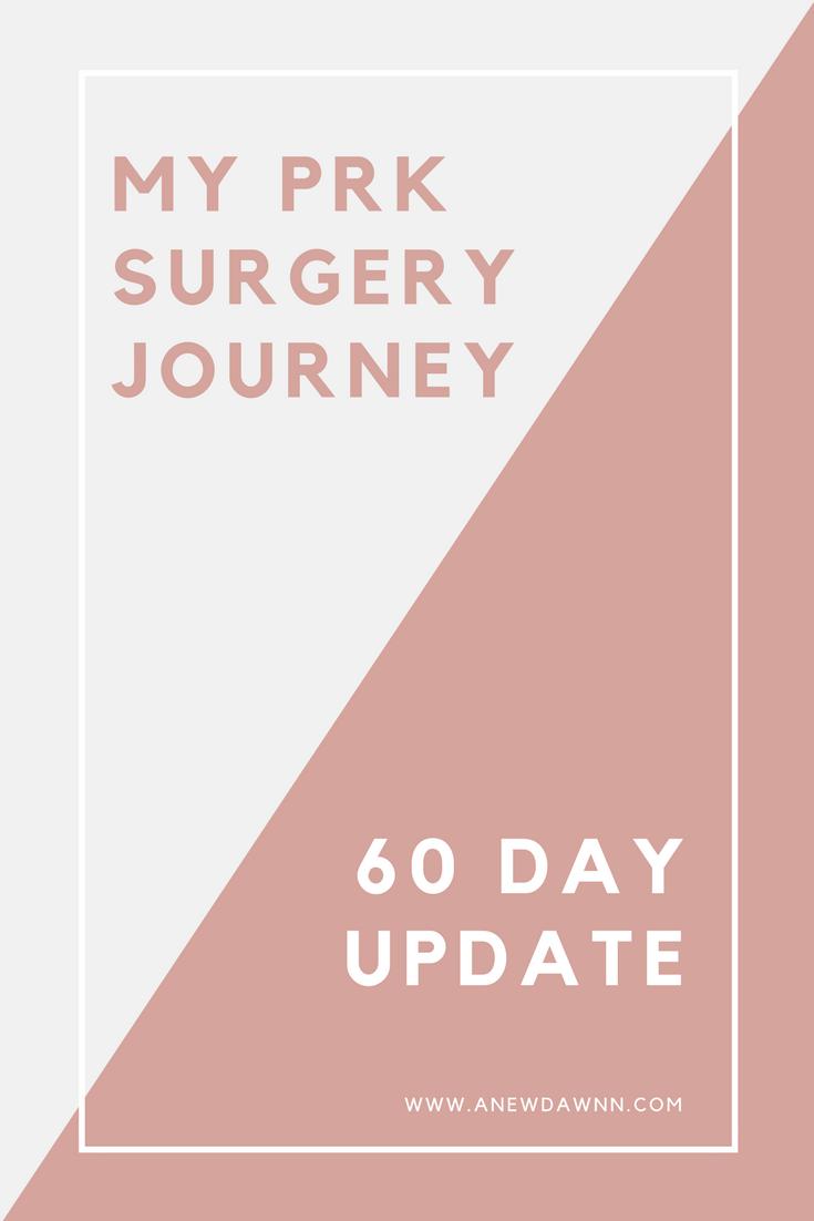 PRK Surgery - 60 Day Update