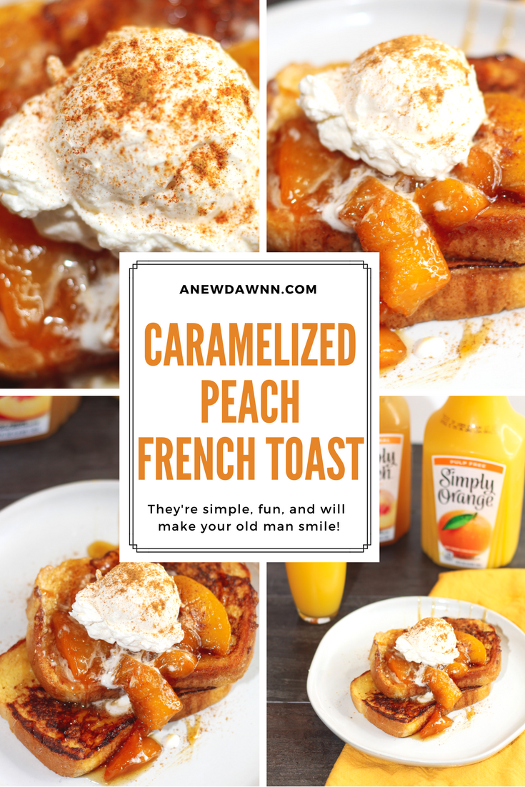 Caramelized Peach French Toast