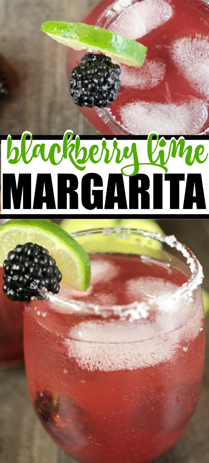 Delicious Blackberry Lime Margarita Recipe