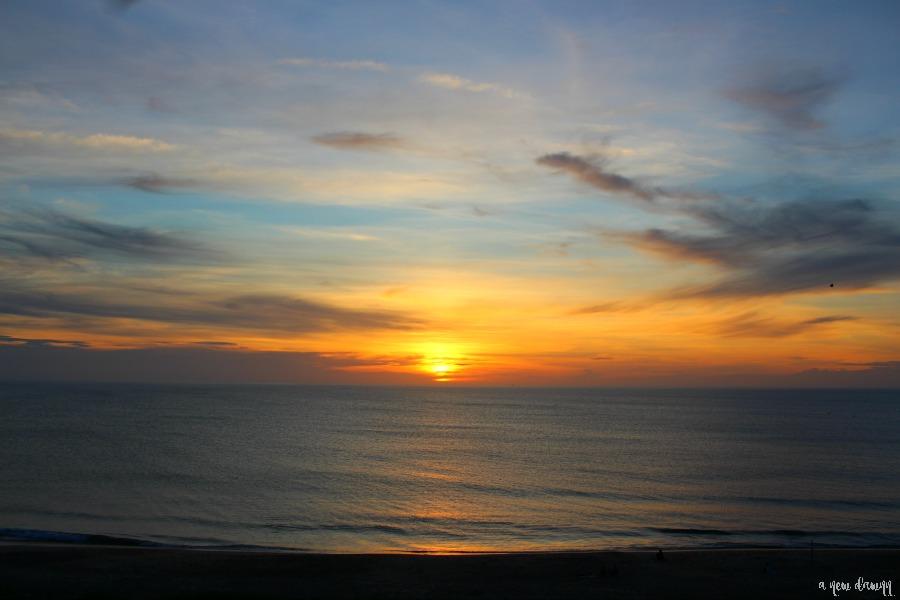 Sunrise in Nags Head, NC