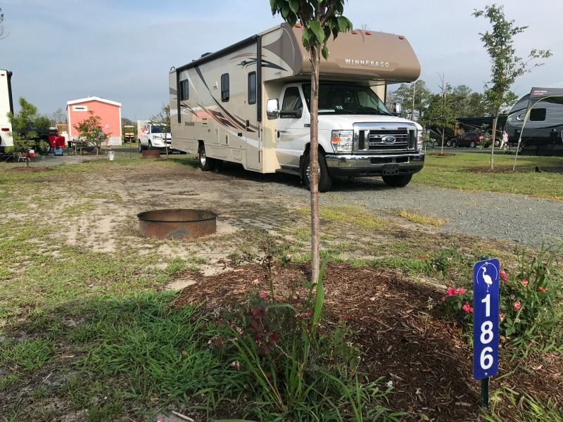 Go RVing at The Resort at Massey's Landing