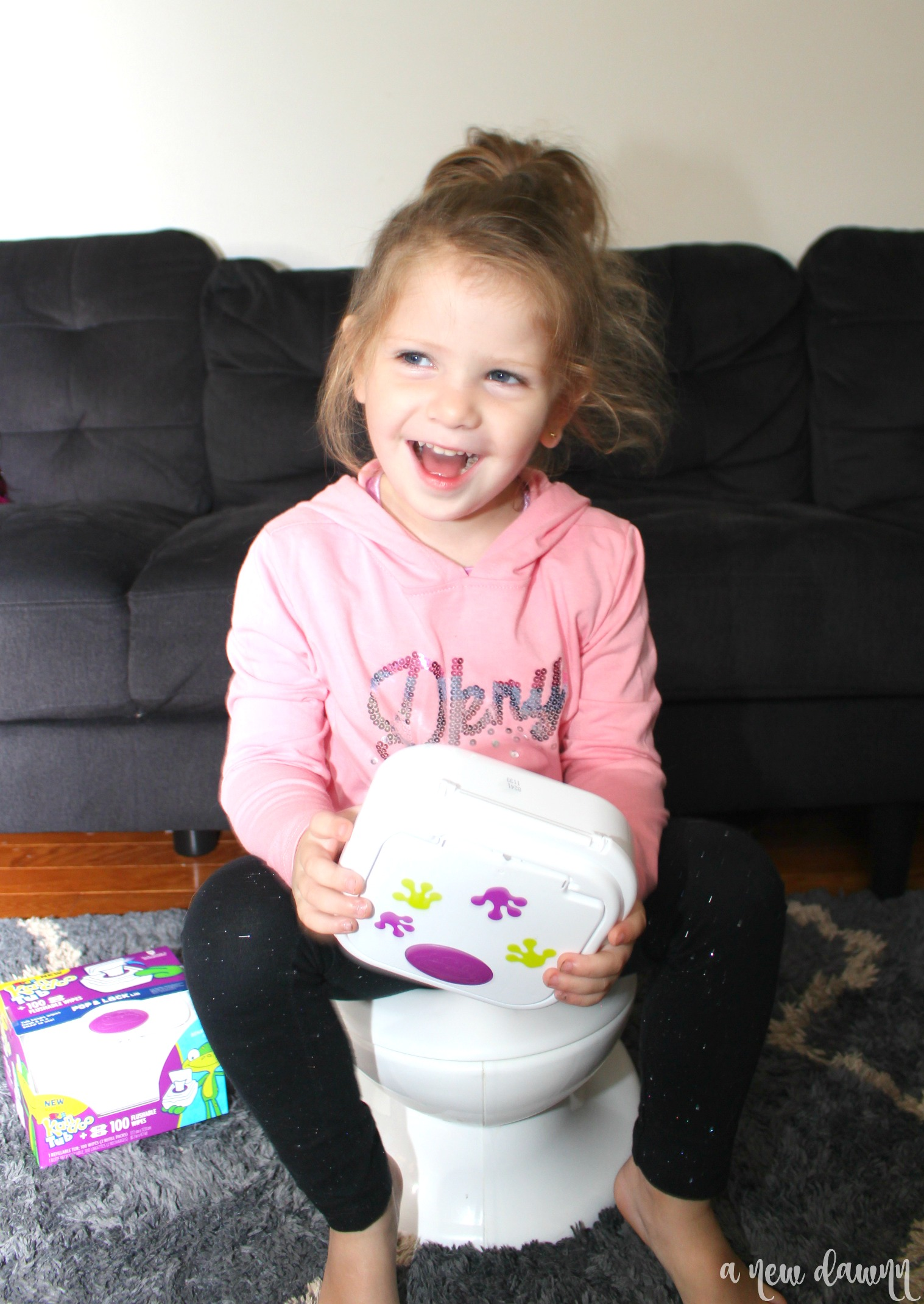 Traveling with a Newly Potty Trained Toddler