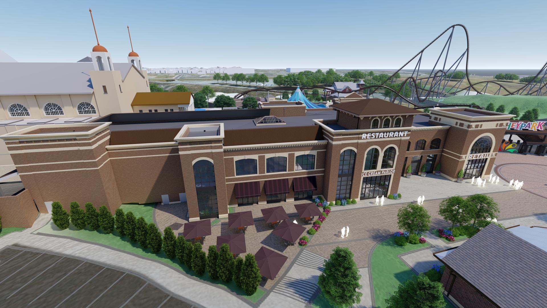 Hershey's Chocolatetown Coming Summer 2020