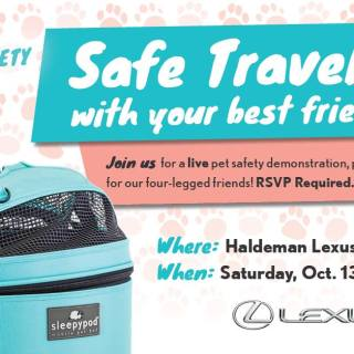 Lexus Pet Safety Event