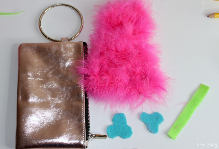 DIY Trolls Poppy Purse