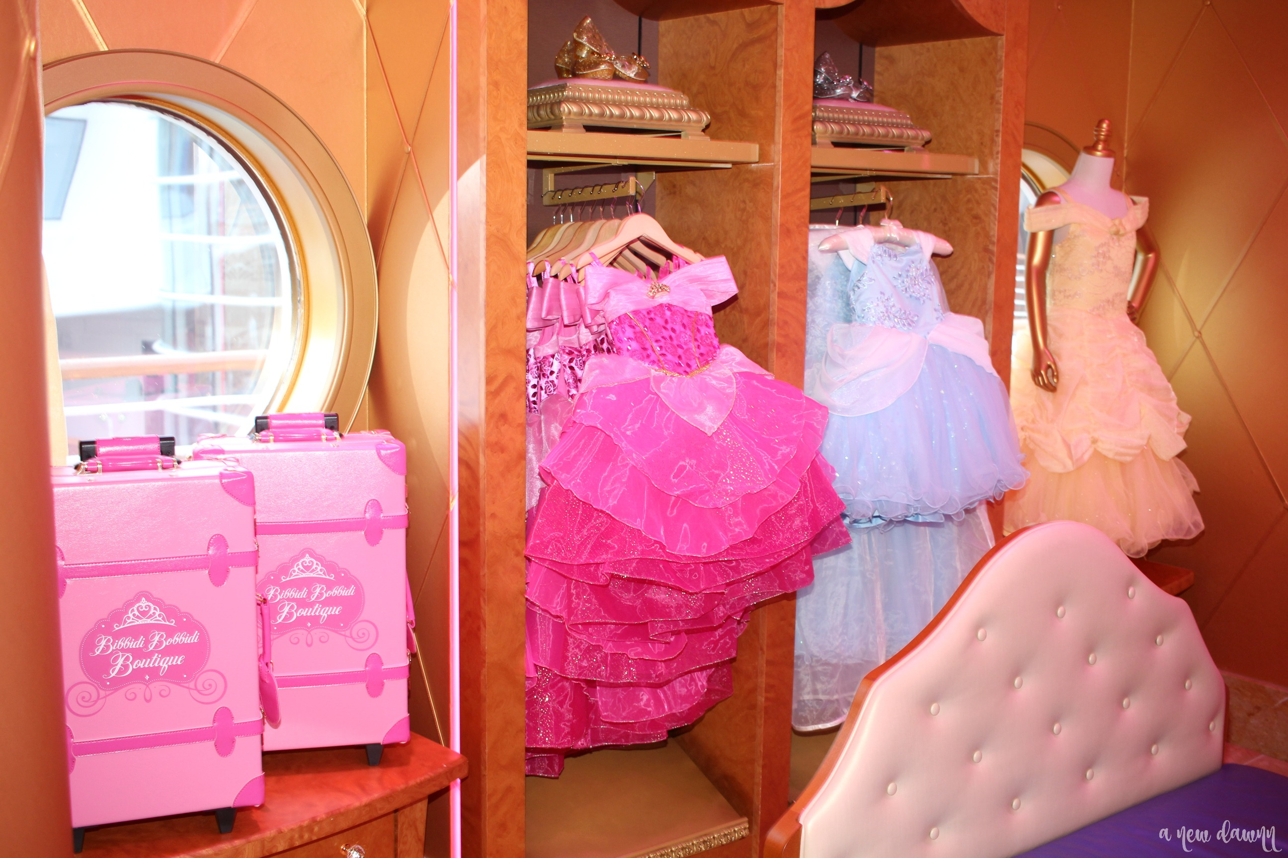 Bibbidi Bobbidi Boutique Onboard the Disney Wonder