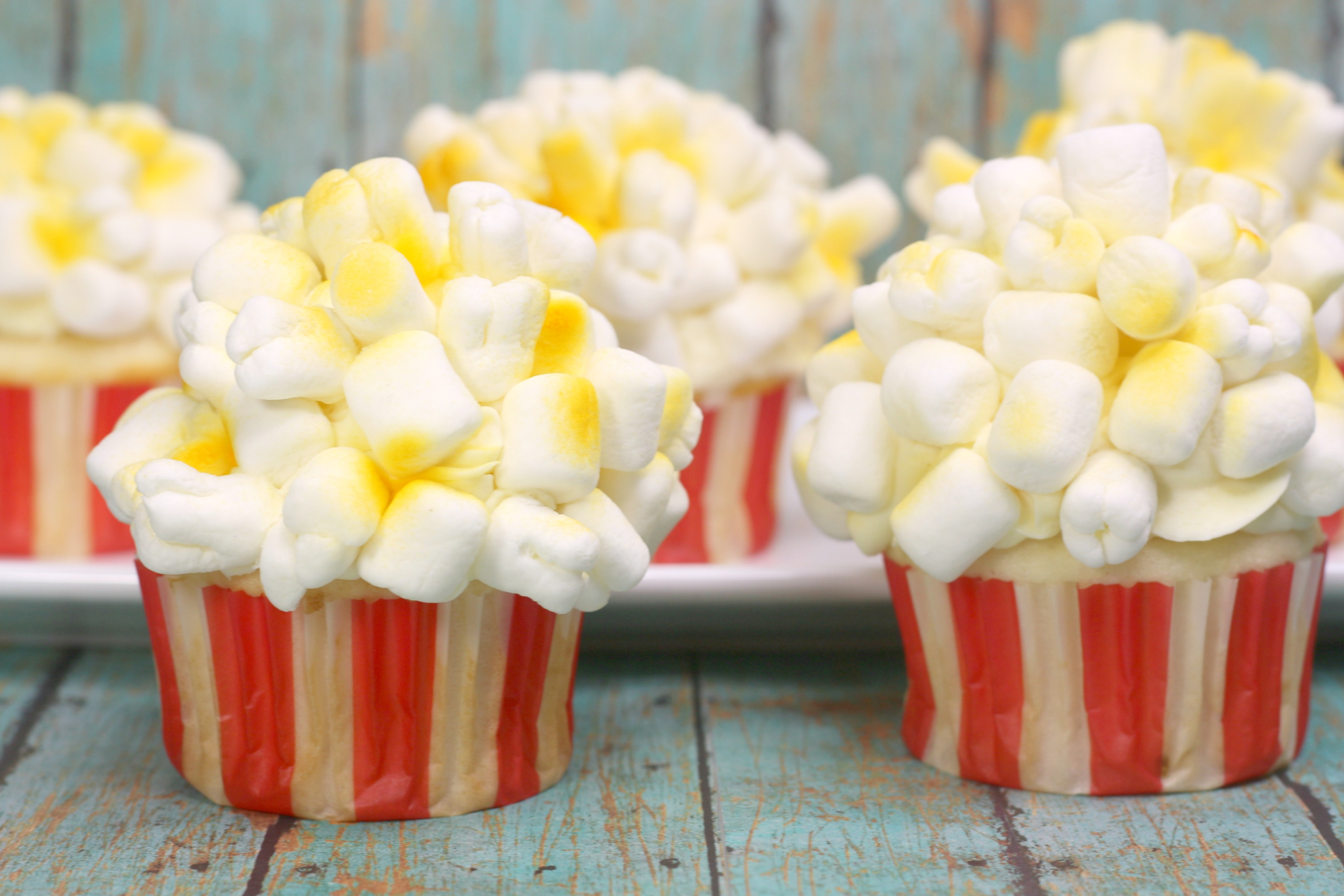 Dumbo Cupcakes Inspired by Disney's Live Action Dumbo