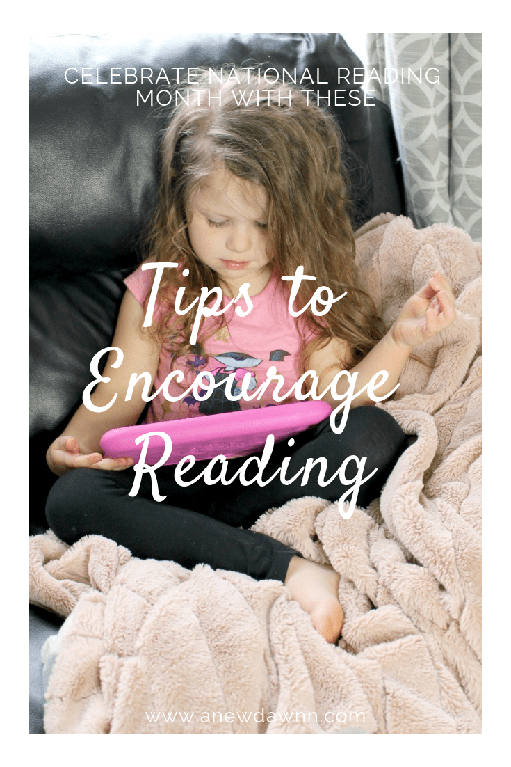 Celebrate National Reading Month with These Tips to Encourage Reading