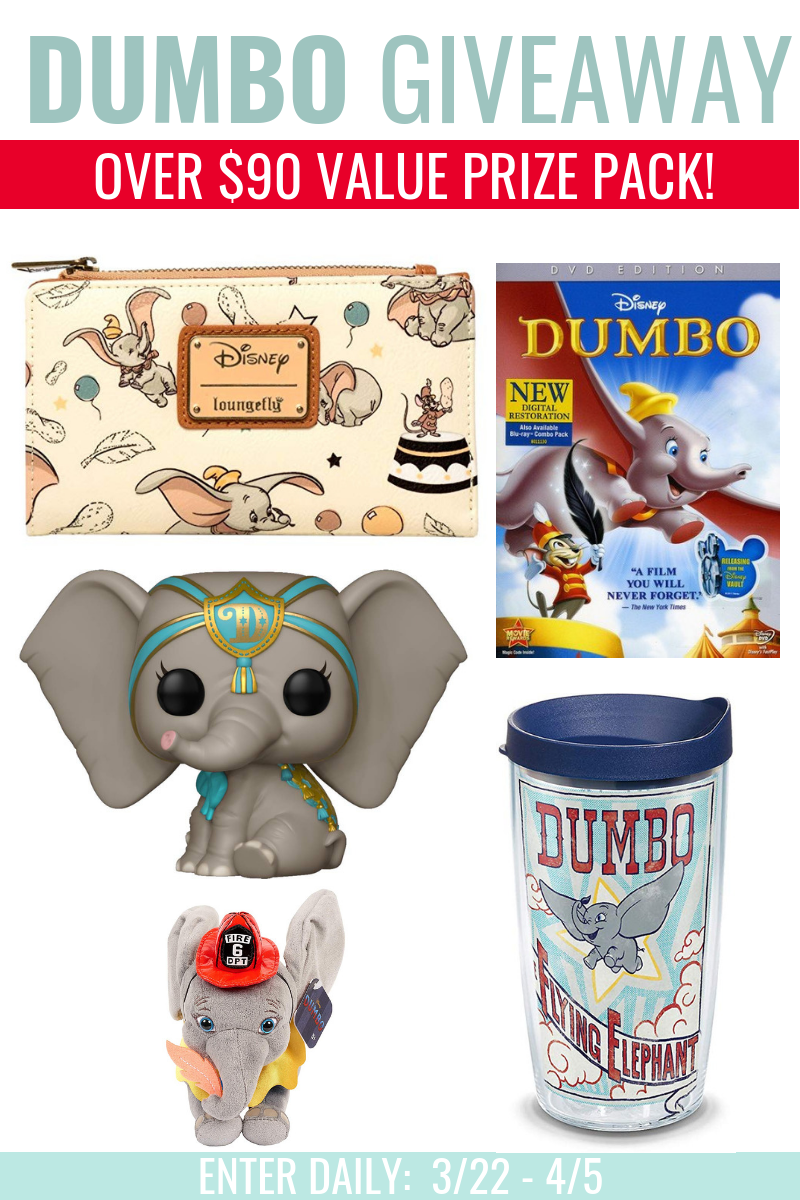 Celebrate the Release of Dumbo & Enter to Win a Dumbo Prize Pack