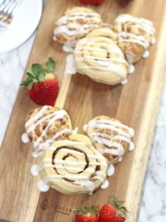 Mickey Shaped Cinnamon Roll Recipe