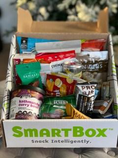 Road Trip Snacks with SmartBox snacks