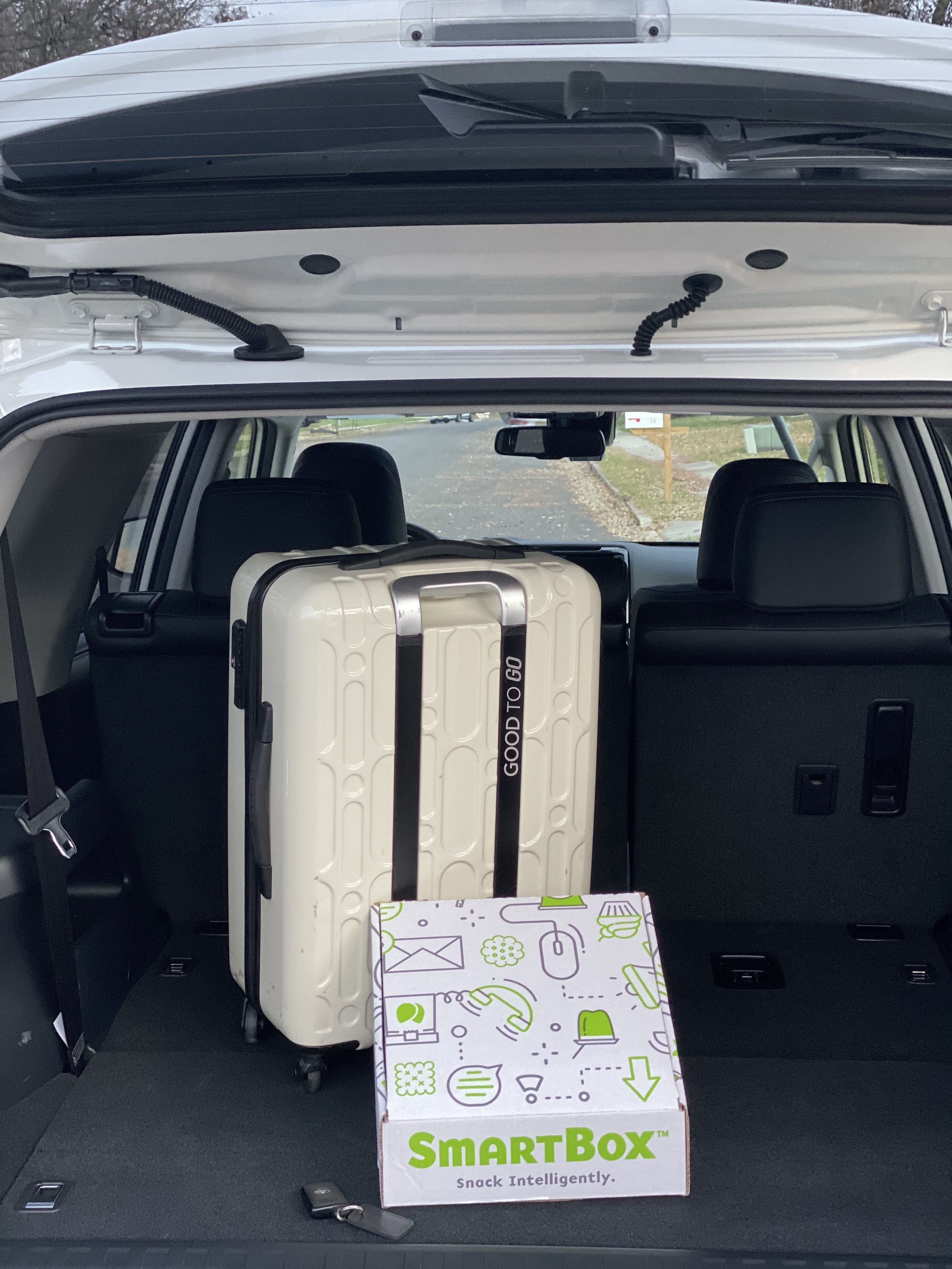 Road Trip Snacks with SmartBox