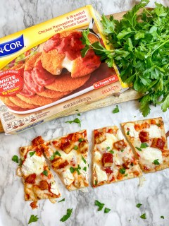 On-Cor Chicken Parmesan Box and Pizza