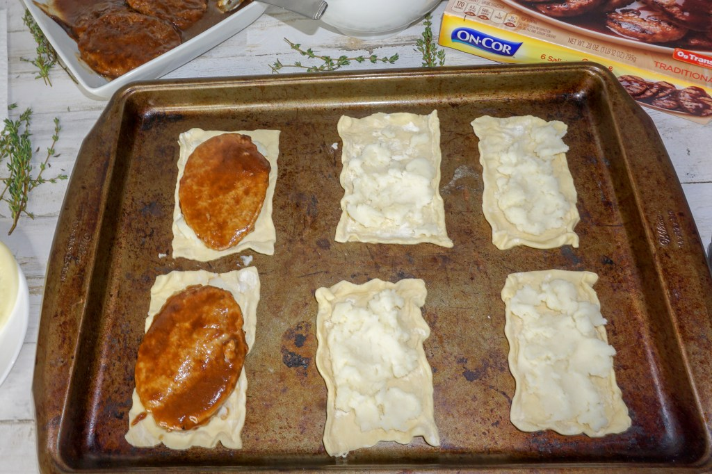 Salisbury steak pockets recipe