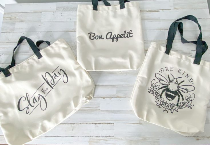 Cricut Reusable Shopping Bag Tutorial