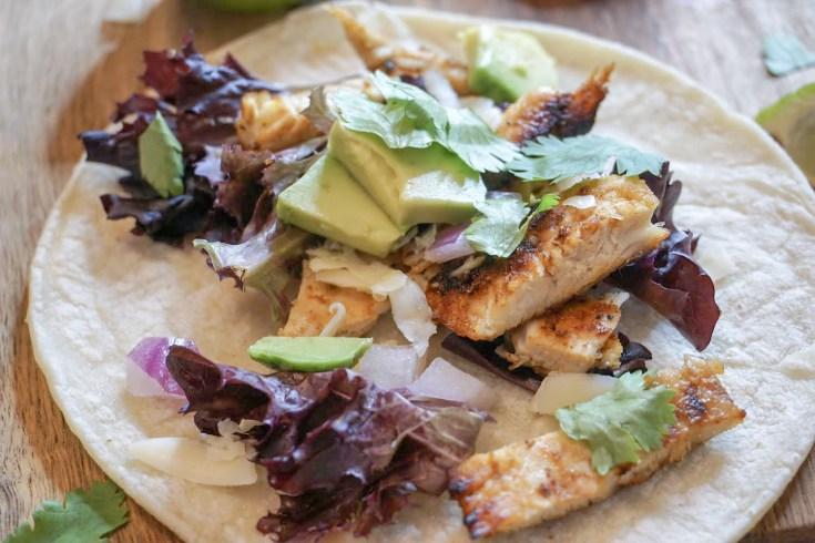 Cilantro Lime Chicken Tacos Recipe