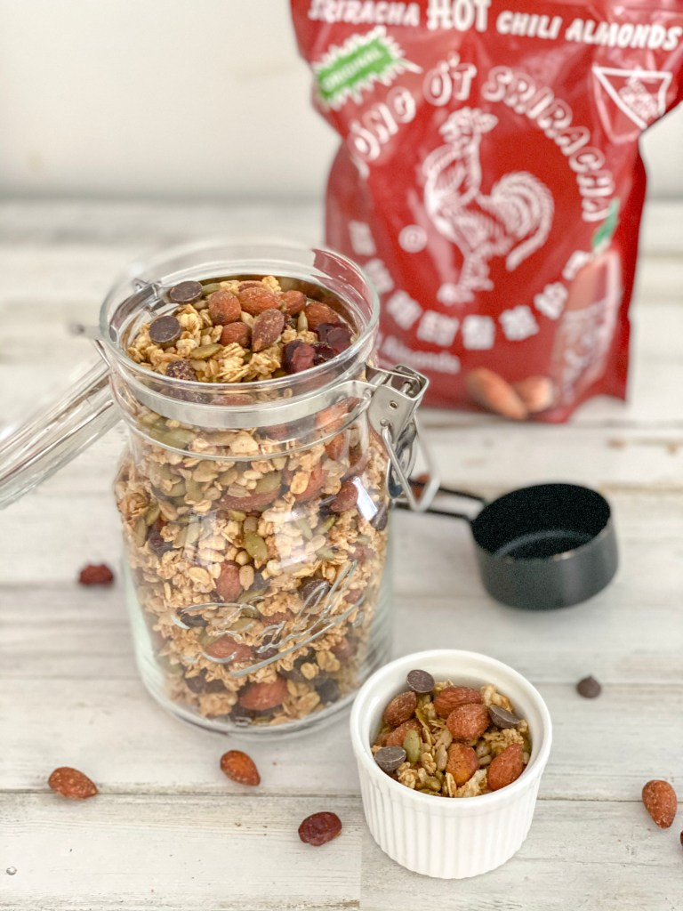 Sweet and Spicy Homemade Granola Recipe
