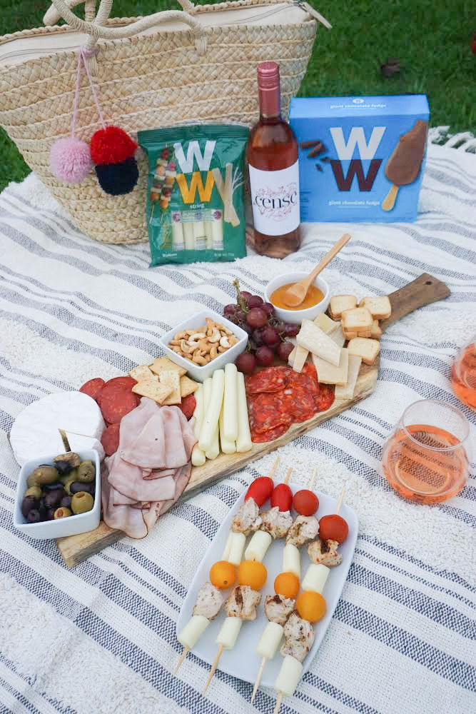 Simple WW Inspired Charcuterie