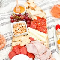 Simple WW Inspired Charcuterie Board