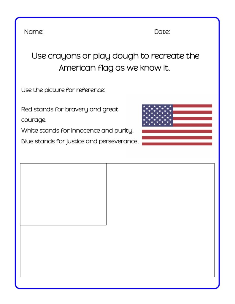 Flag Day Printable Activity Packet