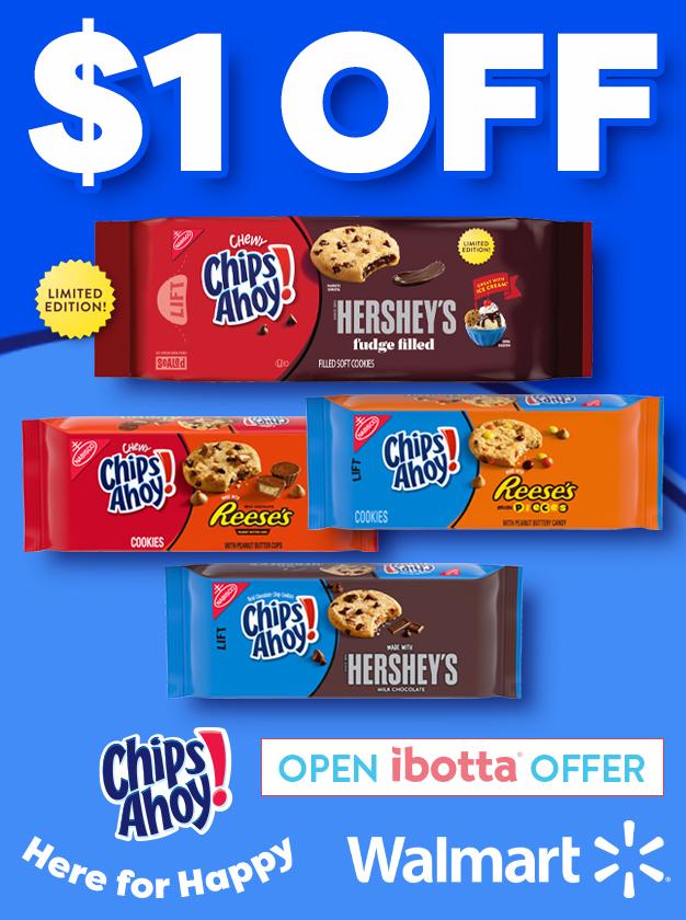 Chips Ahoy Ibotta Offer