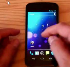 Galaxy Nexus Low Battery Image