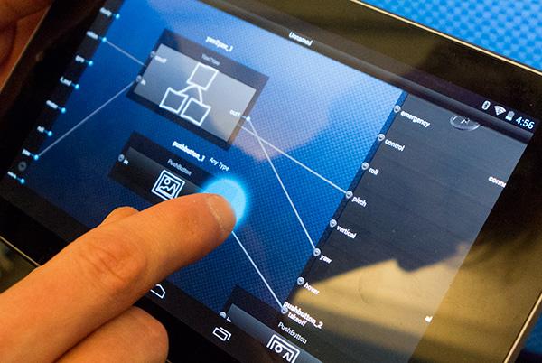 The MakerSwarm app