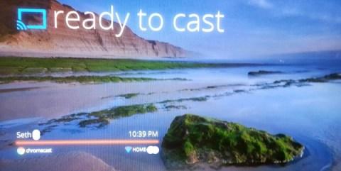 Chromecast Screen