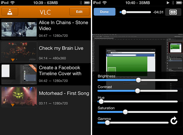 VLC iOS App Features